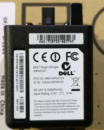 P624N | Dell Printer Wireless Module Adapter | 0P624N