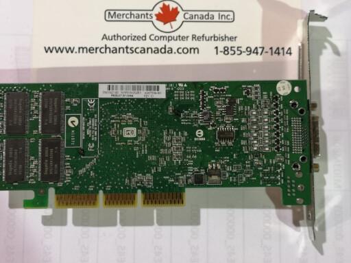 NVIDIA 64MB AGP Video Card | 319627-001 | 272204-003