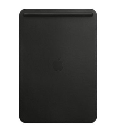 Leather Sleeve for 10.5‑inch iPad Pro - Black  | MPU62ZM/A