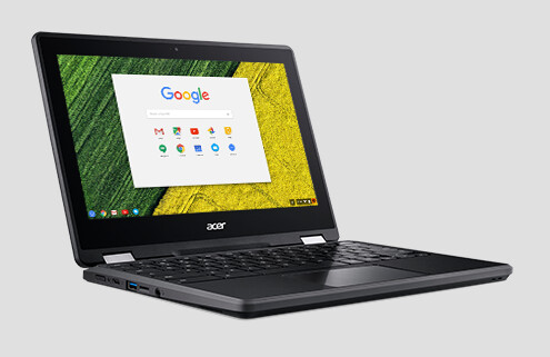 Acer Spin-11 CP511-1H-C7J5 Celeron N3350U 1.10GHz Touch Screen Chromebook
