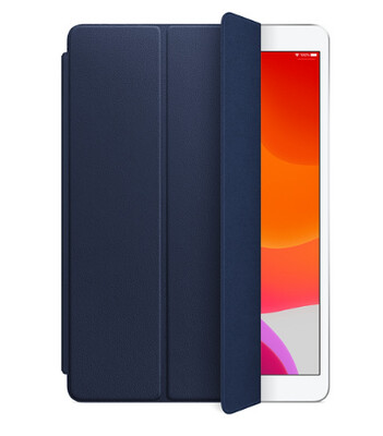 Leather Smart Cover for iPad (7th gen) and iPad Air (3rd gen) - Midnight Blue MPUA2ZM/A