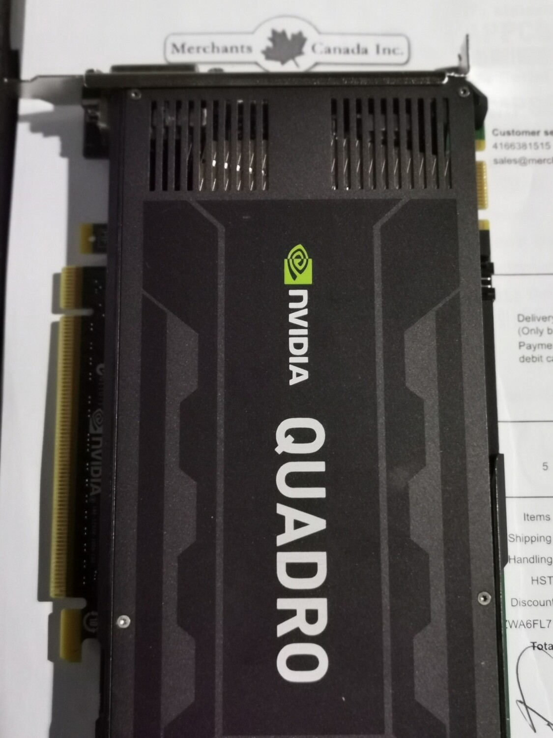 IBM Nvidia Quadro K4000 3GB GDDR5 PCl-E Graphics Card | 03T8312