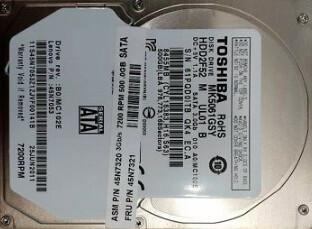 Lenovo 500GB SATA 2.5