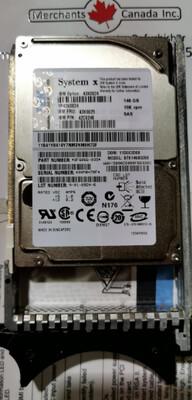 IBM 146GB Hot-Swap 10K SAS Hard Drive | 43X0824 | 42C0248
