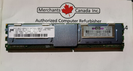 HP 1GB PC2-5300F DDR2-667MHz Server Memory | 398706-051 | 416471-001