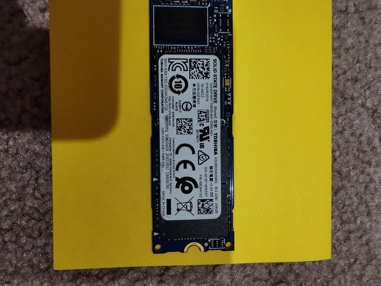 VFR5T | Dell 256GB SSD M.2 2280 | 0VFR5T