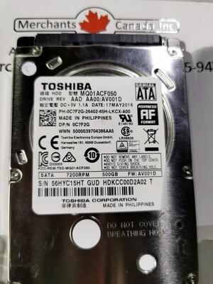 0C7F2G | C7F2G | Dell 500GB 2.5