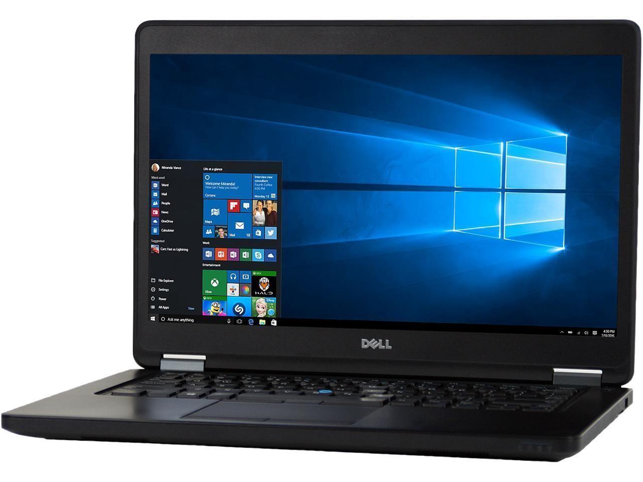 Dell Latitude E5470 Core i7-6820HQ | 16GB | 512GB | 14