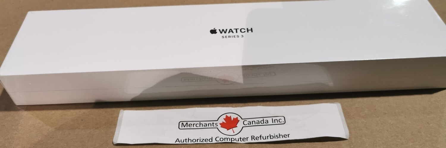 New Sealed Apple Watch Series 3 42mm With GPS | MTF32CL/A | A1859