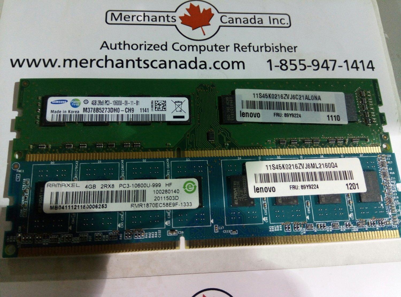 89Y9224    Lenovo 4GB Ram
