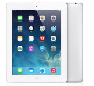 Apple iPad Retina 4th Gen Wi-Fi 16GB White | MD513C/A | A1458