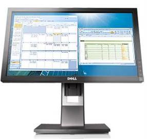 Dell  P2010HT 20 Inch Wide Screen Monitor   0J846R