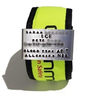 GG - Customer Order - Slap Band ID Tag