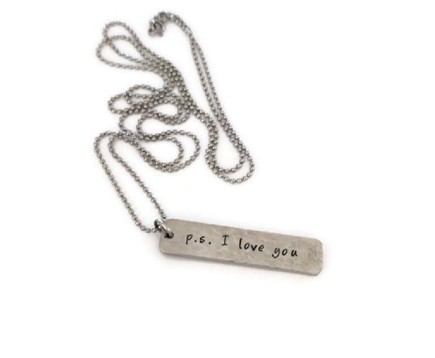 Drop Tags Necklace