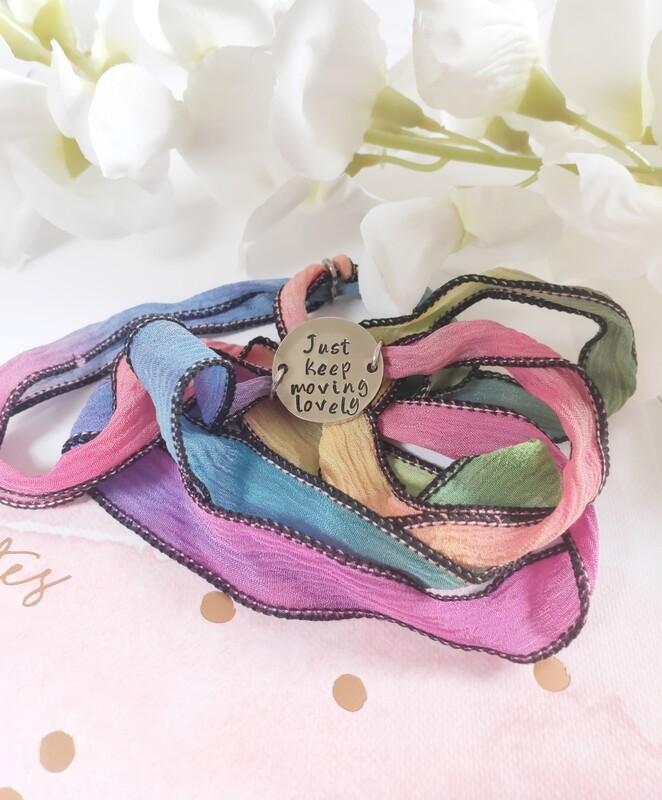 Slide It Silk Bracelet