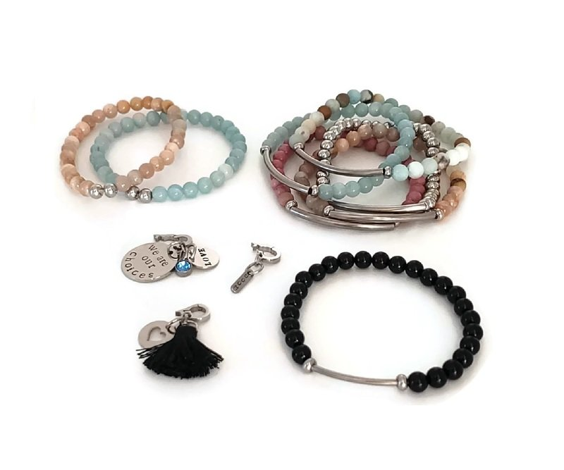 Create Your Own Bracelet and Clip on Charm