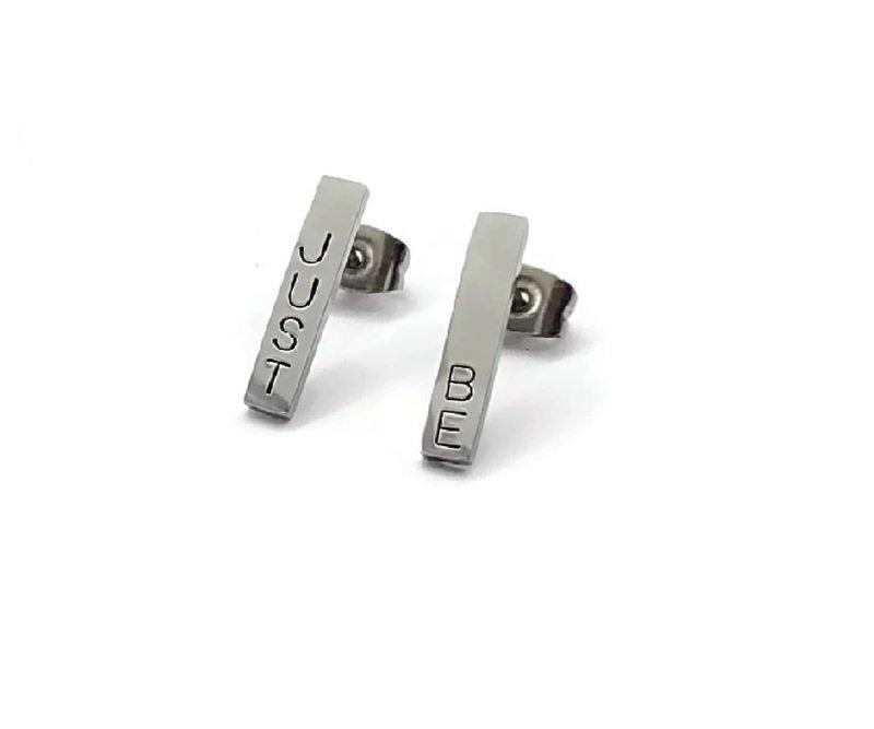 Petite Bar Earrings
