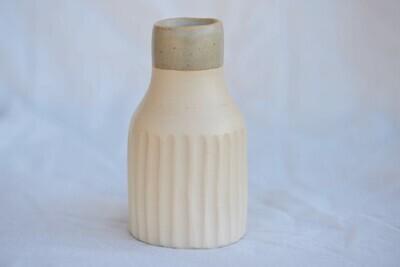 fluted bud vase