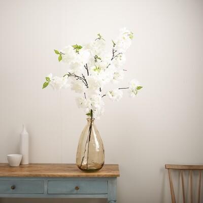 Blossom in Tinted Teardrop Vase