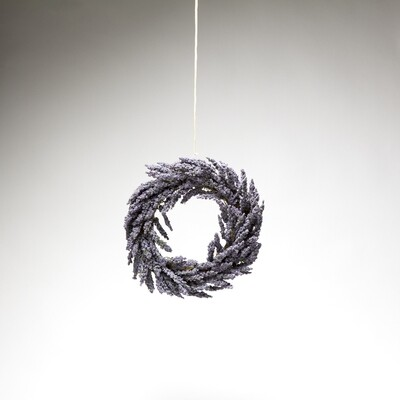 "Lavender Wreath - Purple 13"""