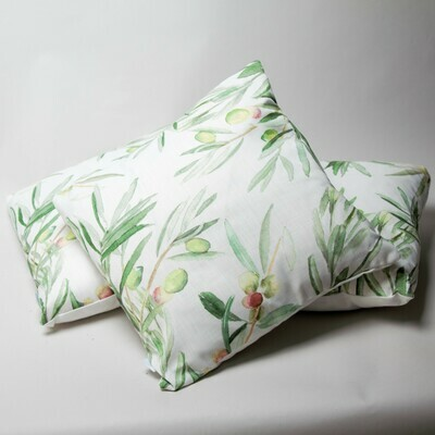 Cushion - Olive Tree - feather filled
