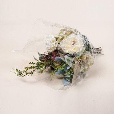 Hydrangea, Peony and Foliage Bouquet