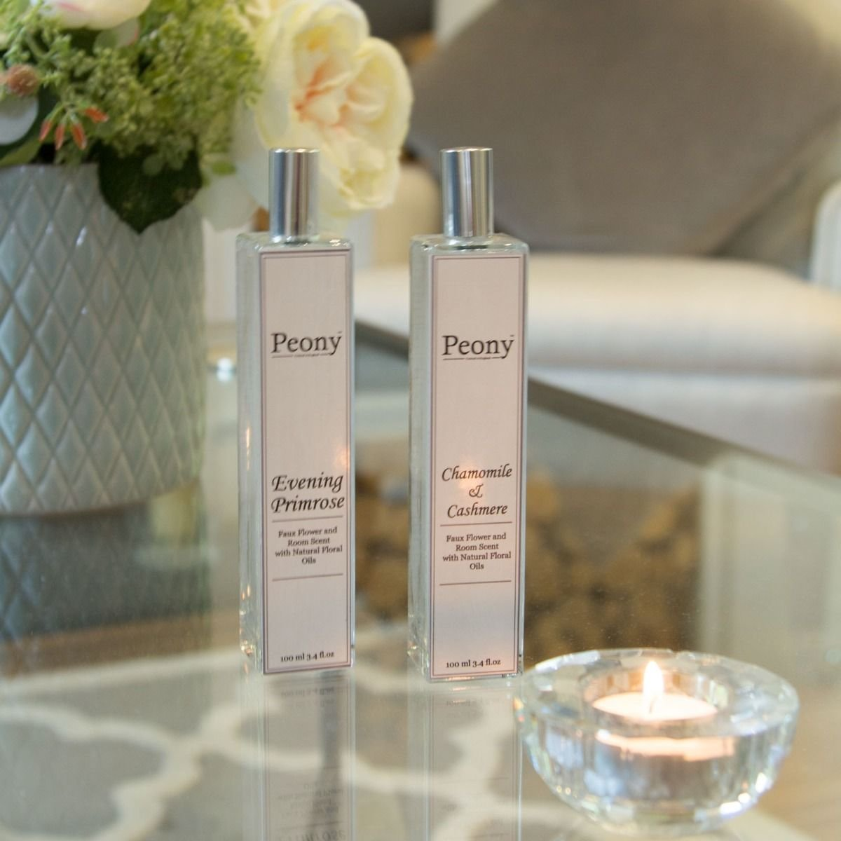 100ml Soothing Chamomile/Cashmere and Evening Primrose Oil Fragrance - pack of two