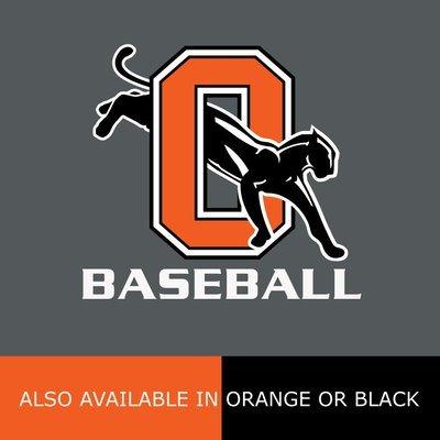 Soft Cotton Tshirt with Orange Baseball Logo