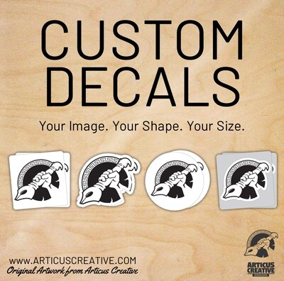 Custom Decals & Stickers - FREE SHIPPING