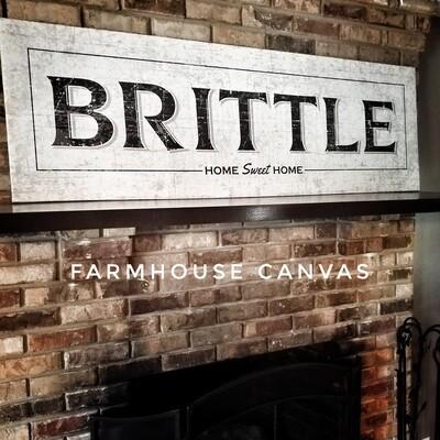 Farmhouse Canvas