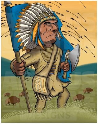 Southwestern Warriors Illustration
