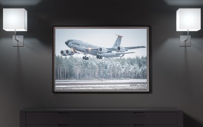 134th ARW, KC135 in Sweden | CANVAS PHOTO