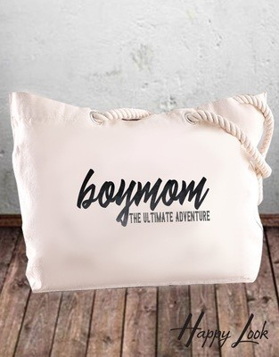 Boymom Tote Bag
