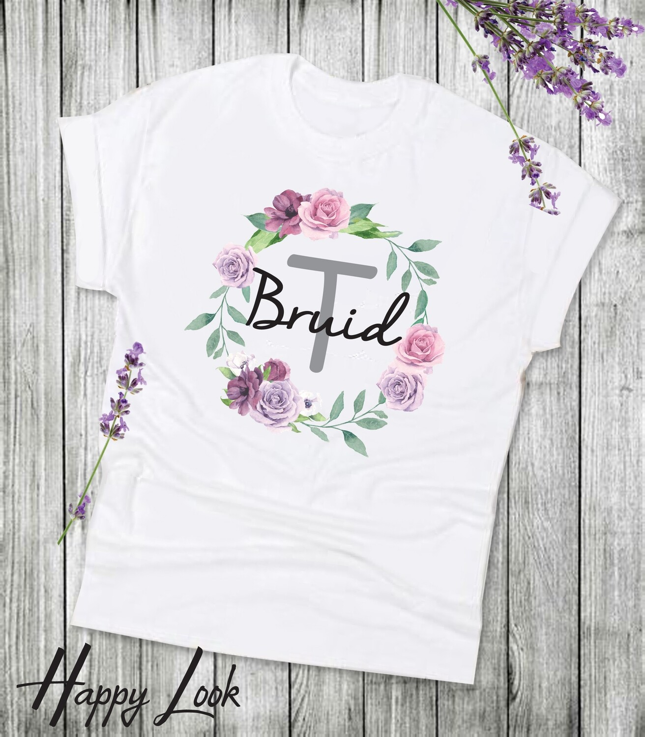 Mauve Bride T-shirt
