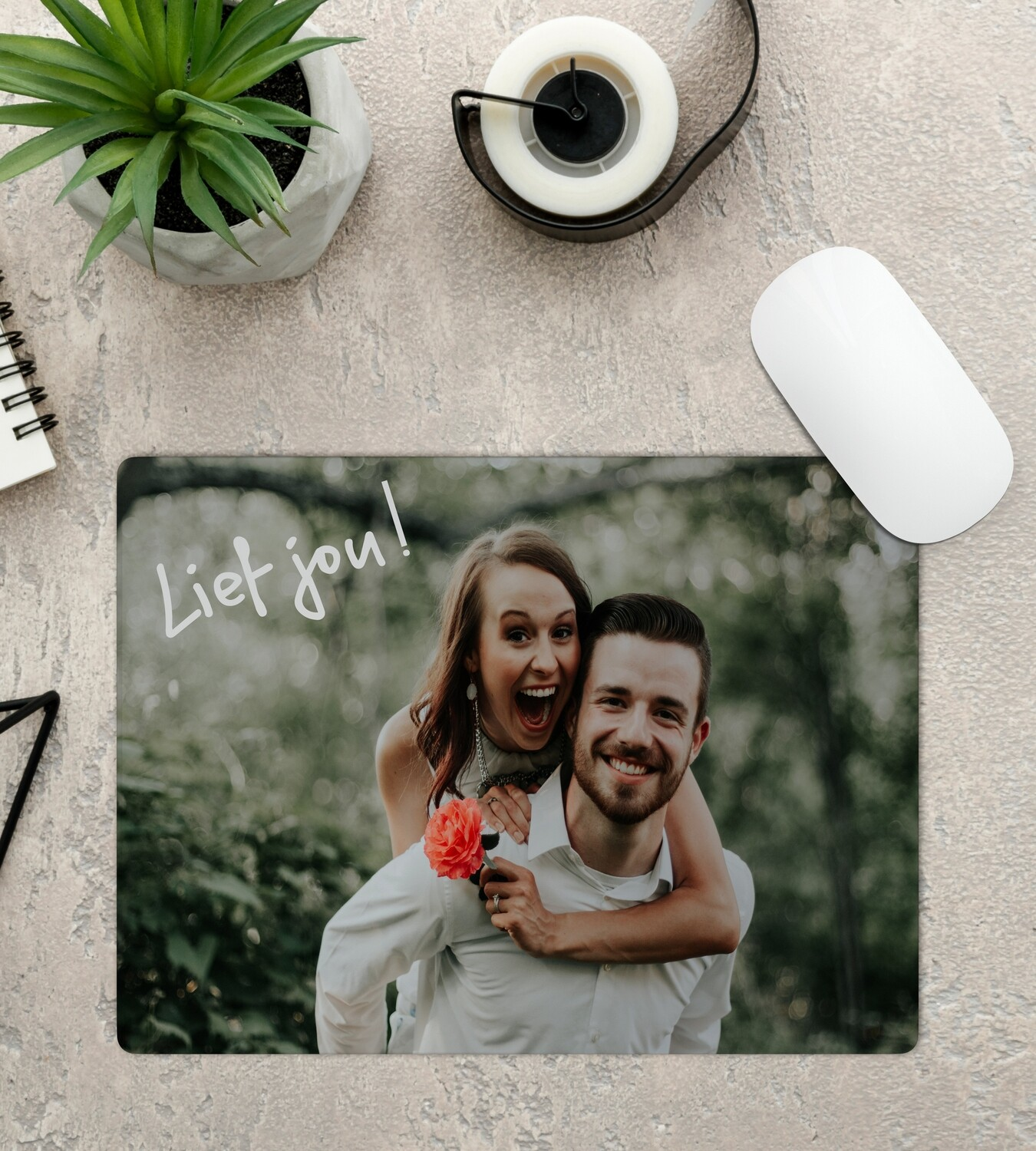 Personalised Message Mouse Pad