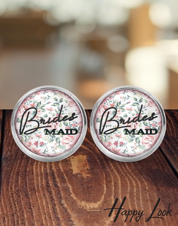 Blush Bridesmaid Earrings