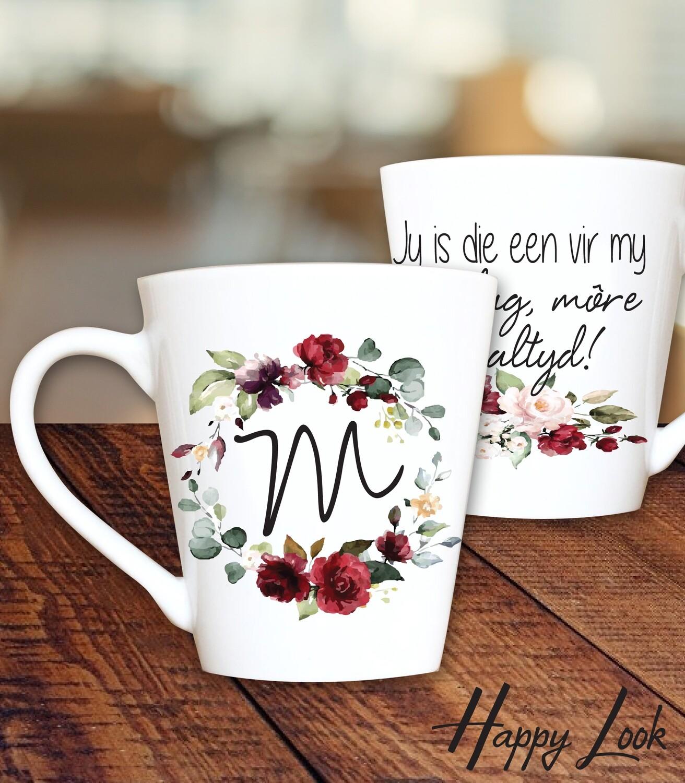 Burgundy Mug