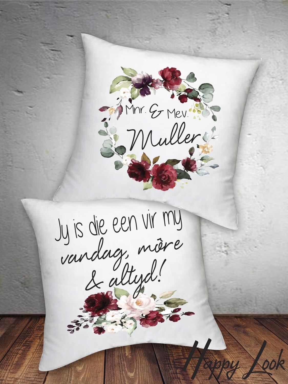 Burgundy Kneel Cushions