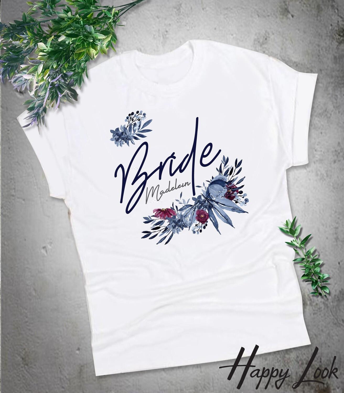 Navy Bride T-shirt