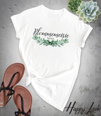 Eucalyptus Bridesmaid T-shirt