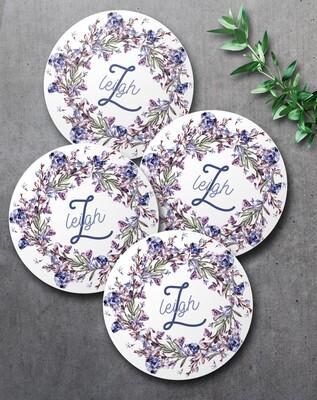 Lavender Coaster Set (4)