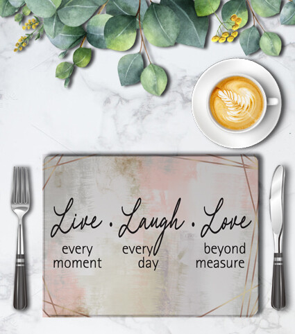 Watercolor Placemat Set (4)