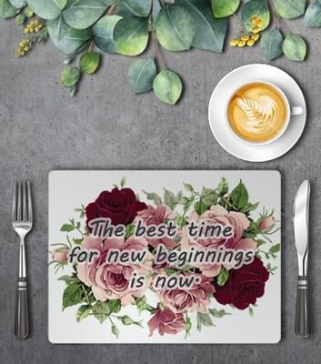 Floral Placemat Set (4)