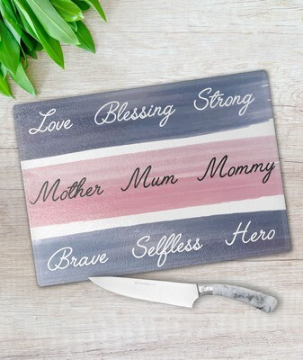 Mother Glass Chopping Board