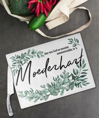 Moederhart Glass Chopping Board