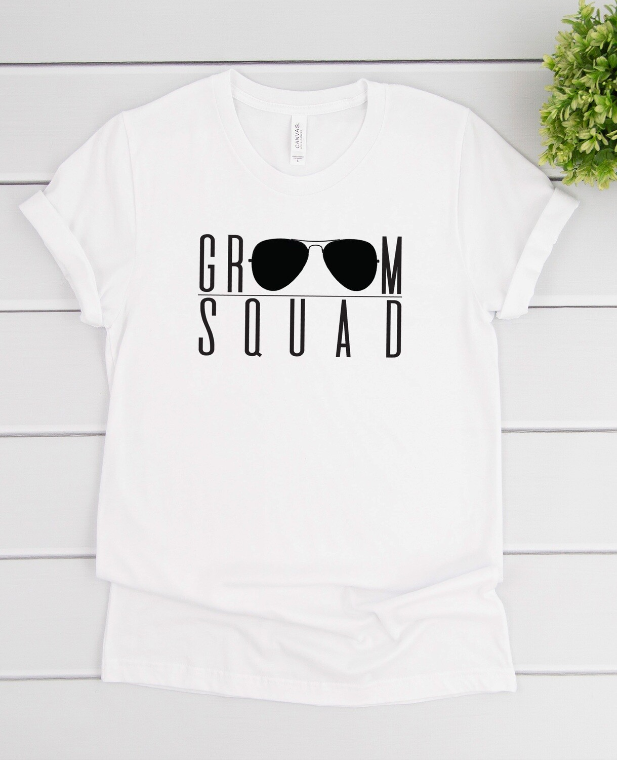 Personalized Groom Squad T-Shirt