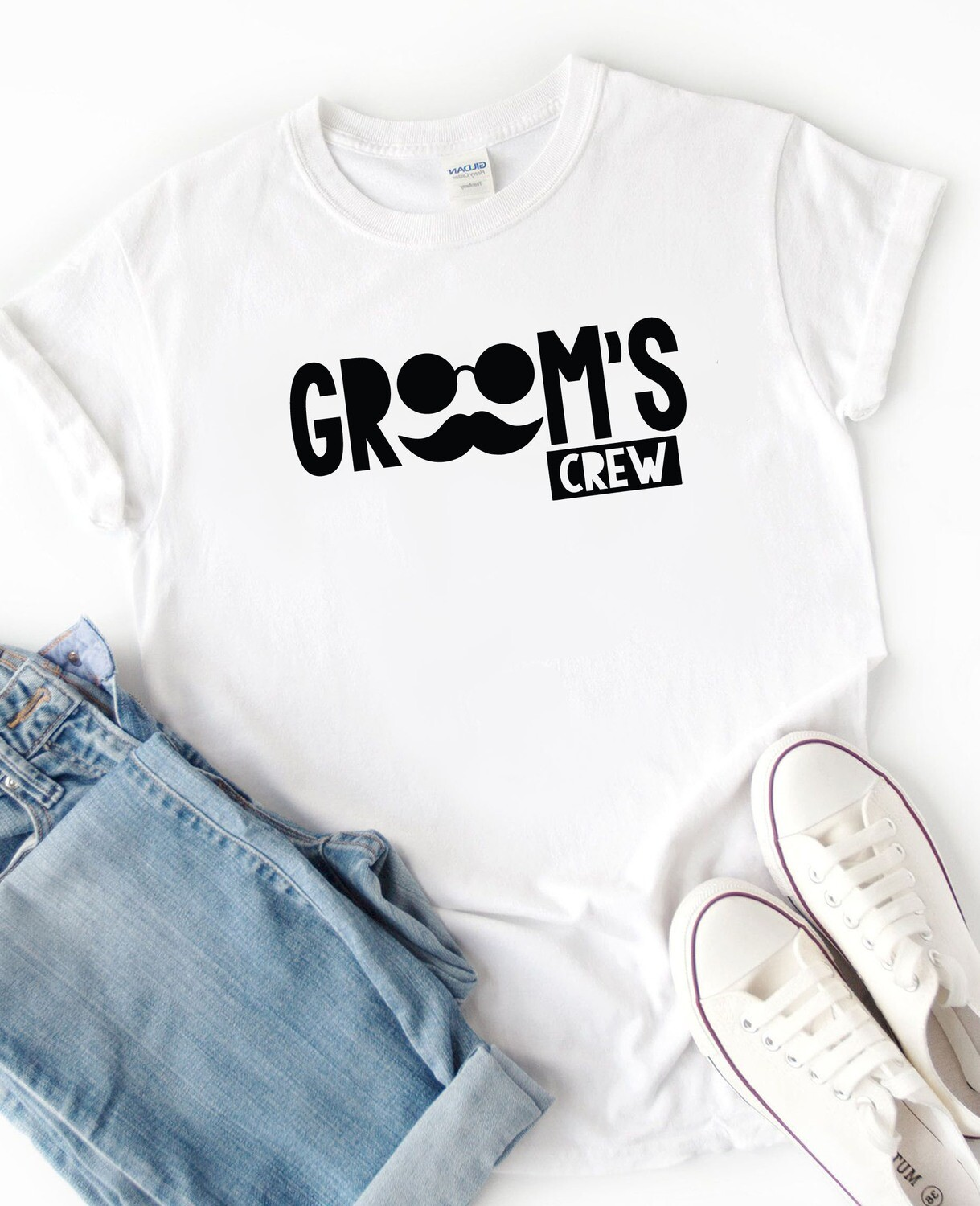Personalized Groom's Crew T-Shirt