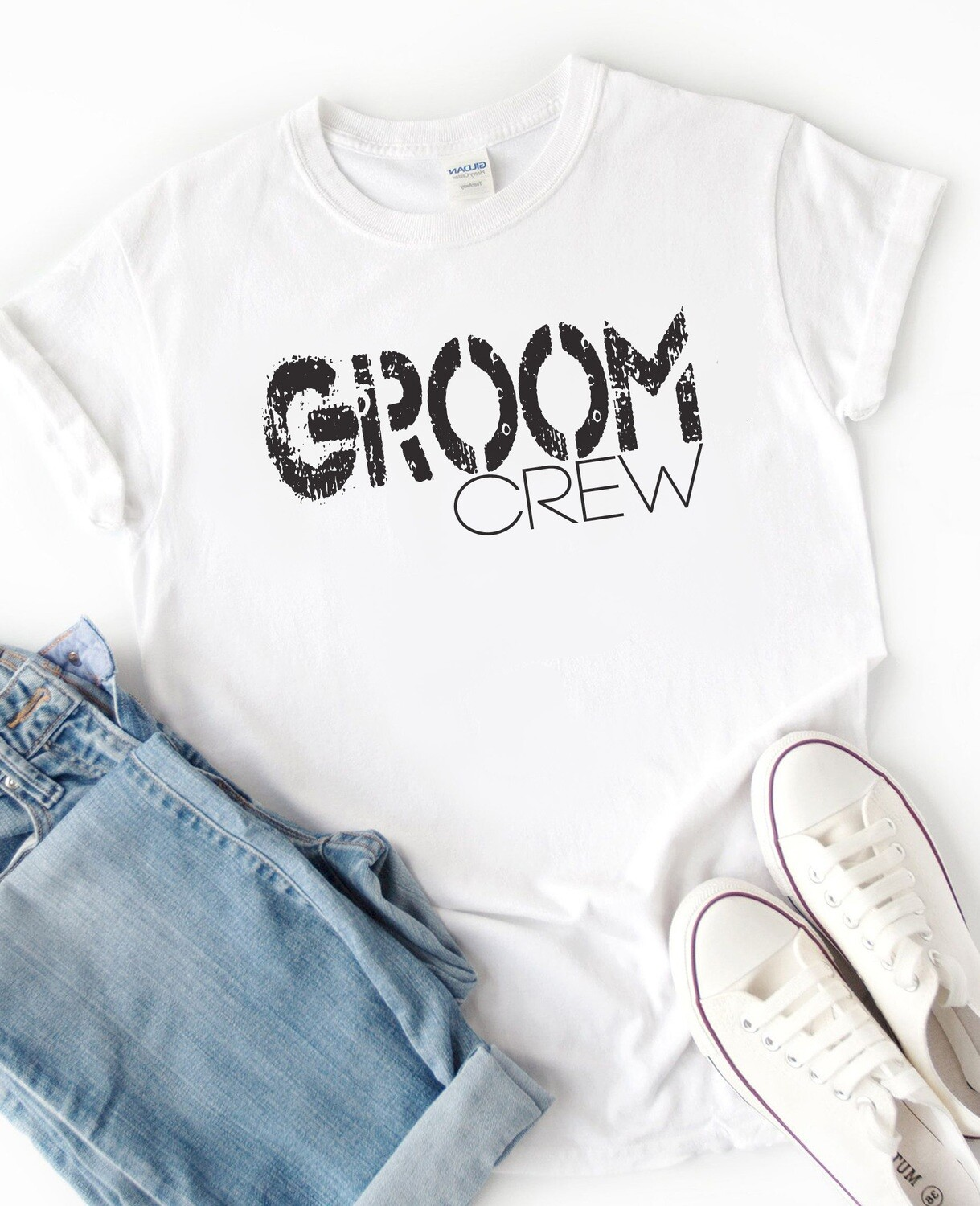 Personalized Groom Crew T-Shirt