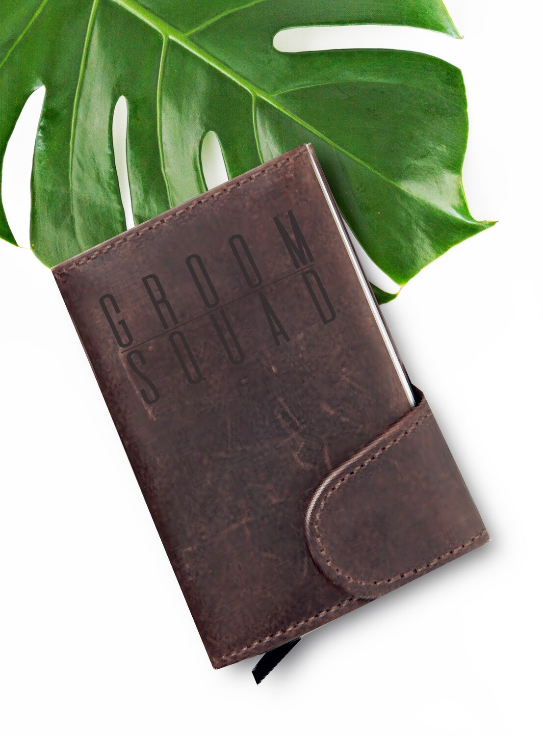 Personalized Groom Squad Wallet