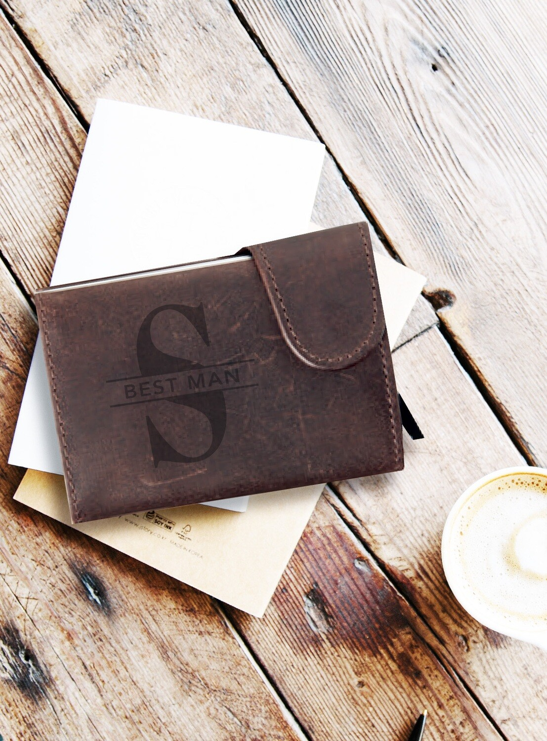 Personalized Classic Monogram Wallet
